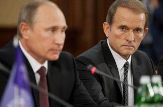 Виктор Медведчук и Путин
