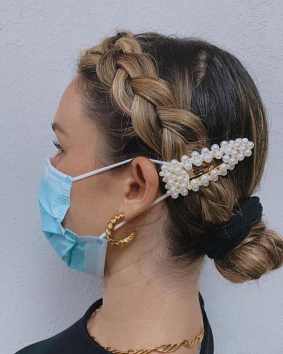 маска для волос не натирает уши