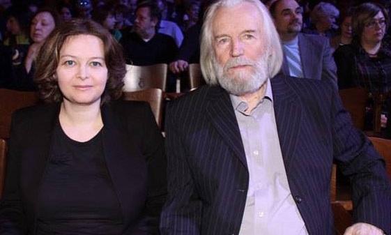 Станислав Любшин с Ириной