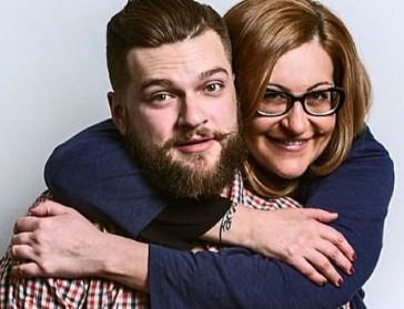 Алиса Шер с сыном