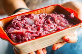 карамелизированный лук для мяса