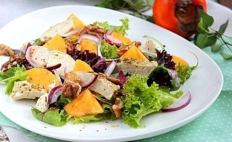 салат по рецепту Кети Топурии