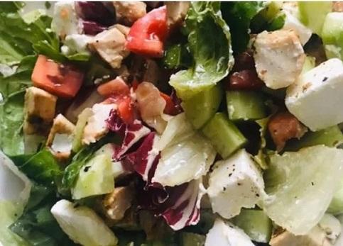 салат из запеченной индейки