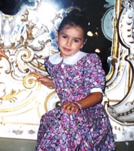 Юлия Zivert (Сытник) в детстве