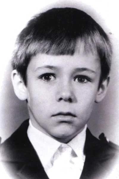 Алексей Панин в детстве