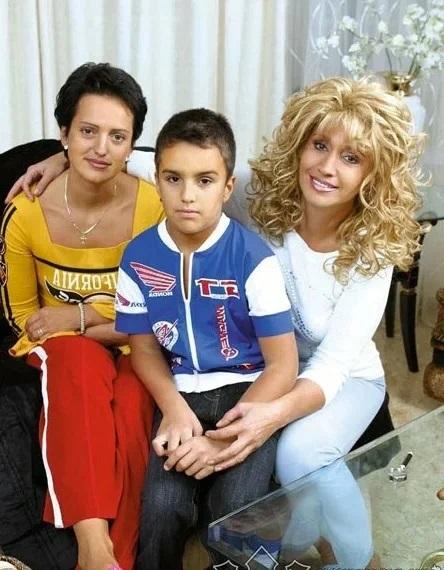 Ирина Аллегрова с внуком