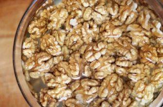 для чего замачивать орехи