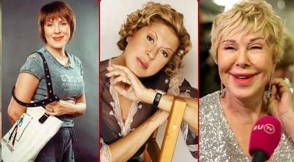 Любовь Успенская в молодости: фото до и после пластики