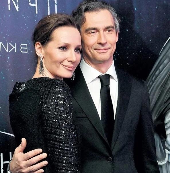 Дарья Златопольская с мужем