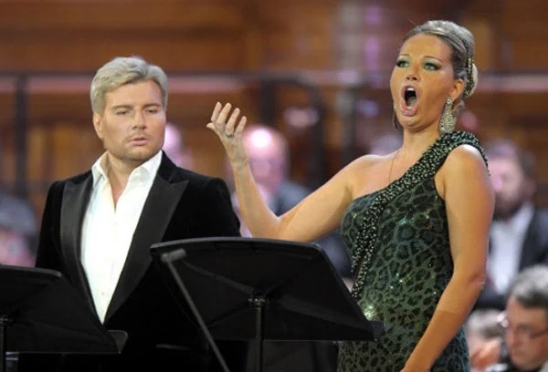 Николай Басков и Мария Максакова