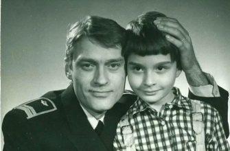 Борис Щербаков с сыном Василием