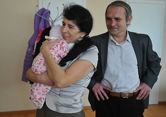 Галина Шубенина и ее дочь