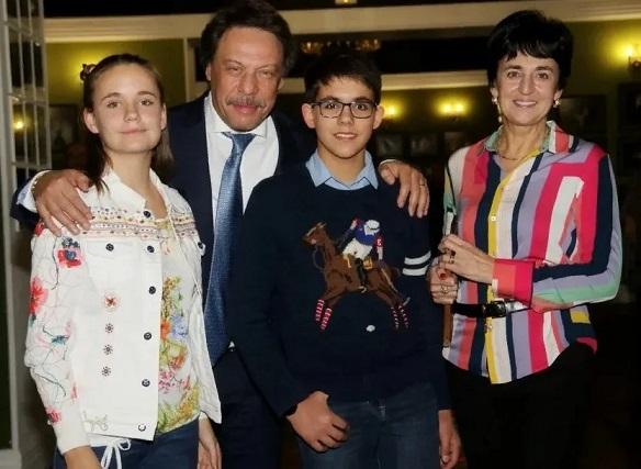 Михаил Борщевский и его приемные дети