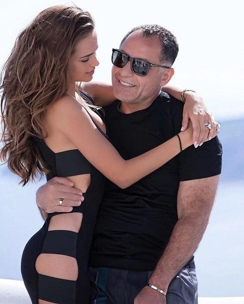 Ксения Дели и ее муж
