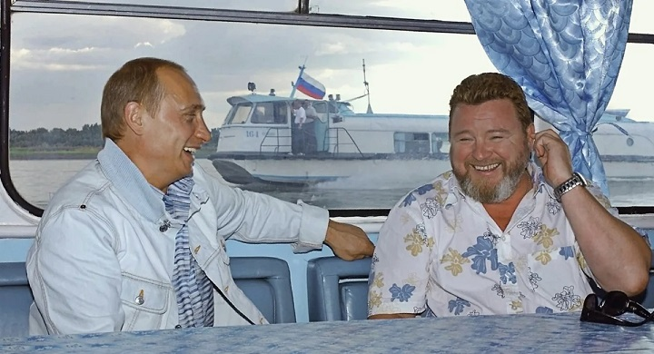 Михаил Евдокимов с Путиным