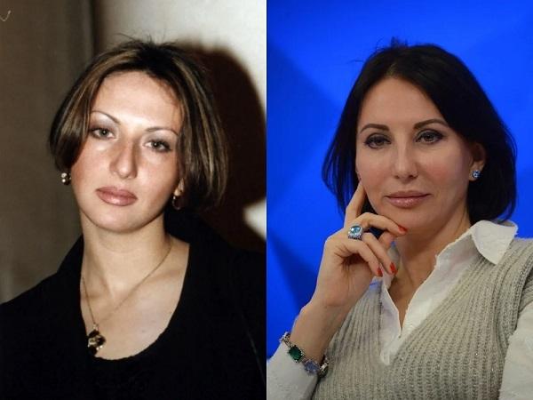Алика Смехова в молодости и сейчас