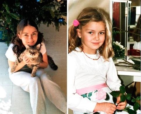 старшая дочь Игоря Николаева в детстве