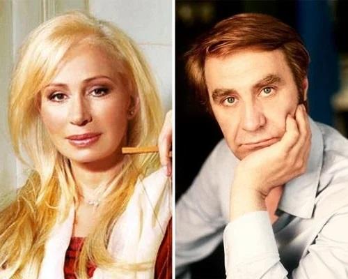 Анатолий Васильев с первой женой