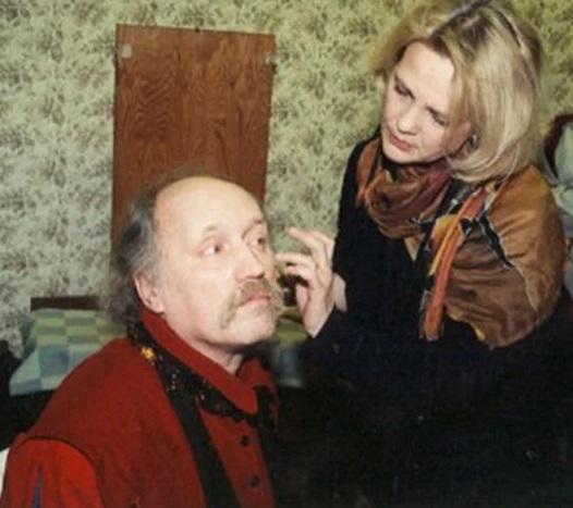 Светлана Пенкина с мужем