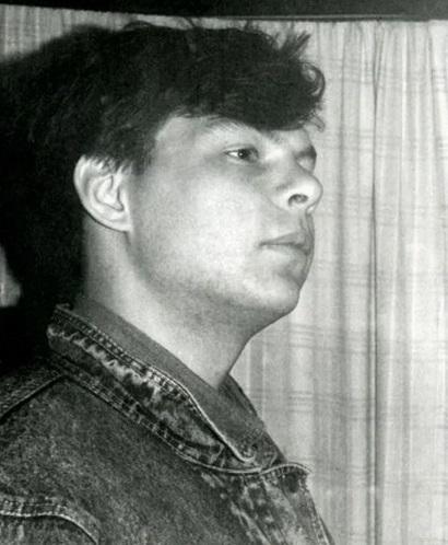 Актер Андрей Бочаров в молодости