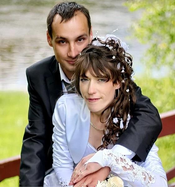 Вероника Зайцева с мужем