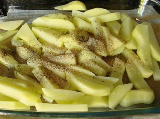 картошка по-деревенски приготовление