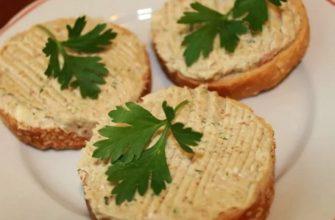 селедочное масло для бутербродов: рецепт