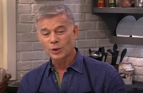 Олег Газманов на кухне