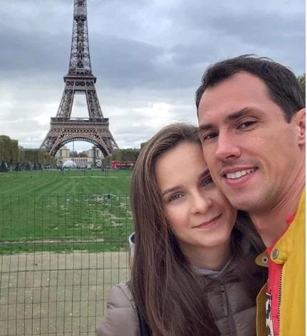 Тимур Еремеев с женой