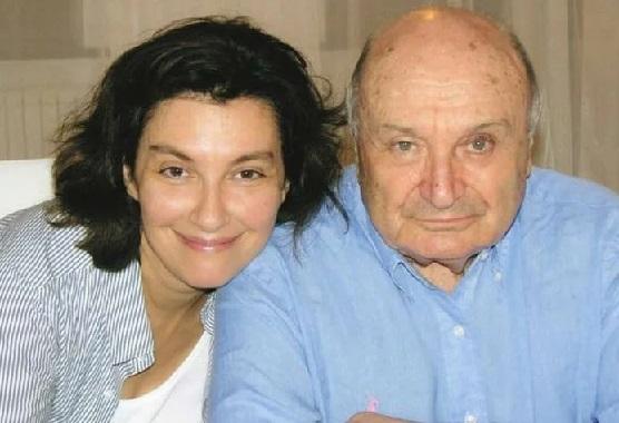 Михаил Жванецкий с женой Наташей