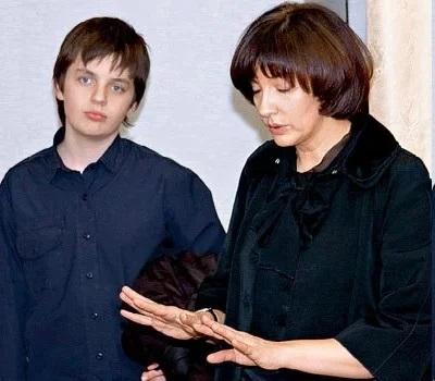 Жена и сын Михаила Жванецкого