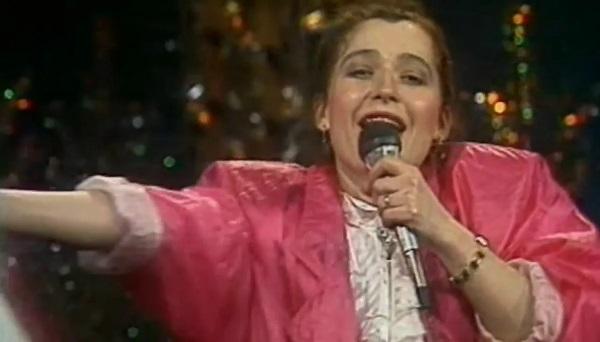 певица Алиса Мон в молодости