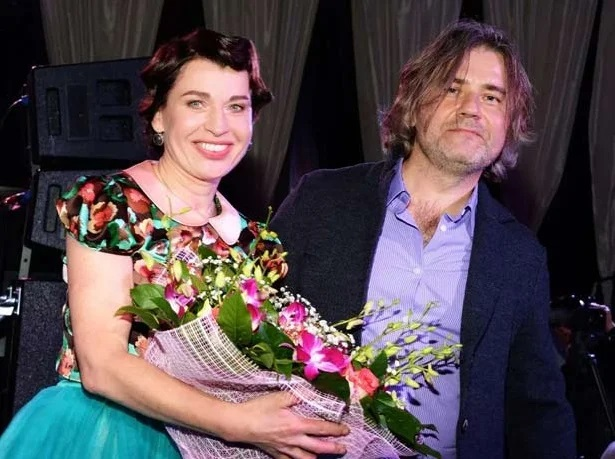 певица Алиса Мон с мужем