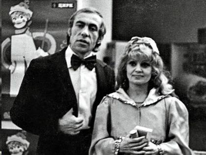 Ирина Асмус с мужем
