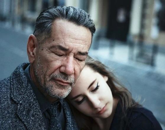 Актер Алексей Горбунов с дочерью