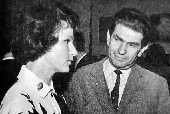 актриса Юлия Борисова с мужем