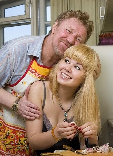 Семен Морозов с дочерью